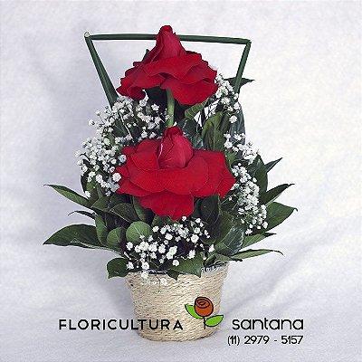 Arranjo 2 Rosas