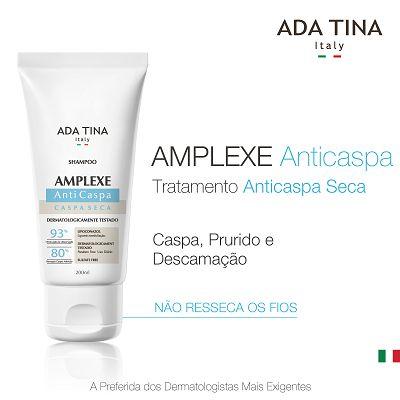 Shampoo Amplexe Anticaspa Seca – 200ml – Ada Tina