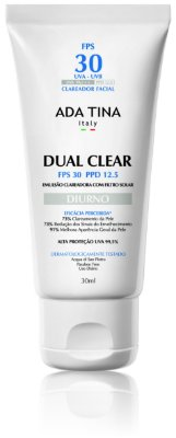Dual Clear Diurno FPS 30 – 30ml – Ada Tina
