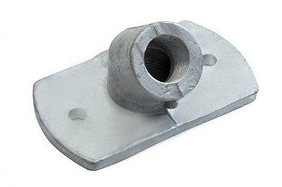 02014 Conector Alumínio 45 Curvo (10 unidades)