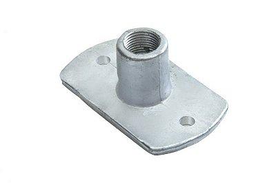 02012 Conector Alumínio Reto 1/2 (10 unidades)