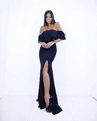 Vestido longo Jana