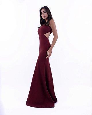 Vestido Marsala Lucina