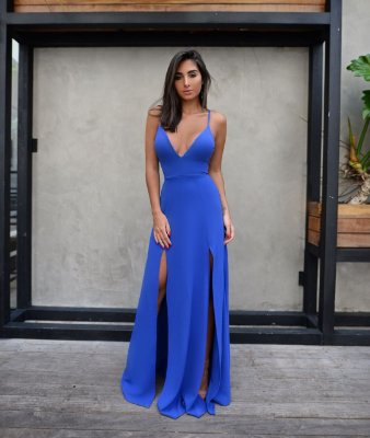 Vestido Azul Bic