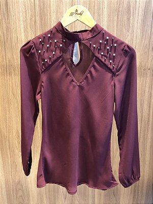 Camisa Marsala