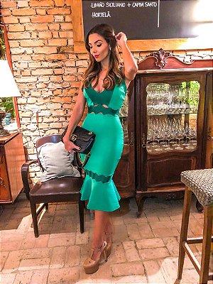 Vestido Mid Verde
