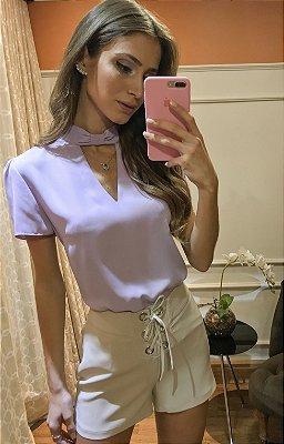Blusa Rebeca Lilas