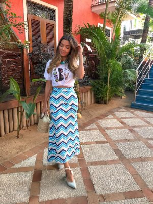 Blusa Renata Oculos