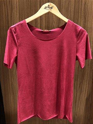 Blusa Suede rosa
