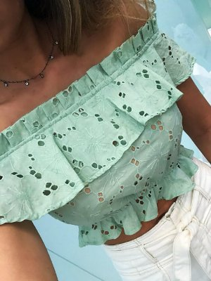 Cropped Verde Lese