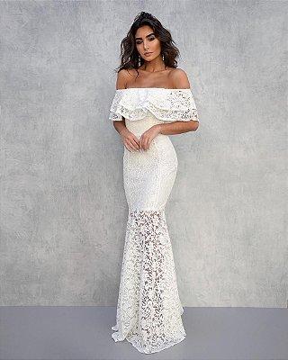 Vestido Longo Prada