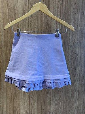 Shorts Saia Lilas