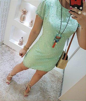 Vestido Verde Lese