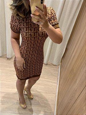 Vestido Fendi Jaque