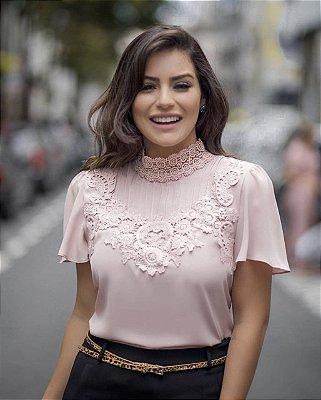 Blusa Rose Camila