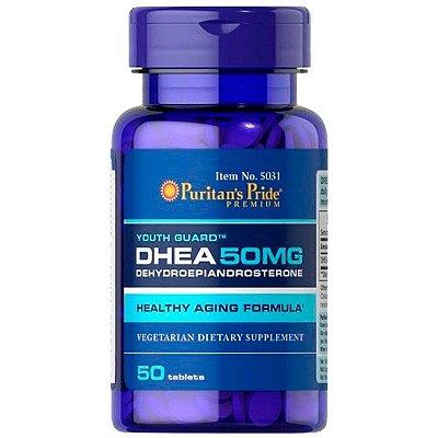 DHEA puritans com 50 tabletes de 50mg  original importado - frete grátis
