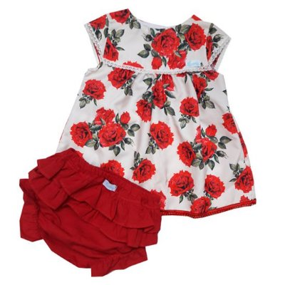 Vestido jardim de rosas