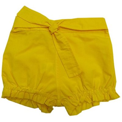 Short amarelo pintinho
