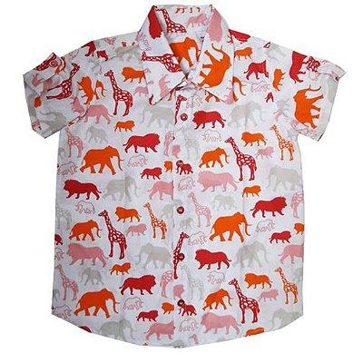 Camisa animais safari