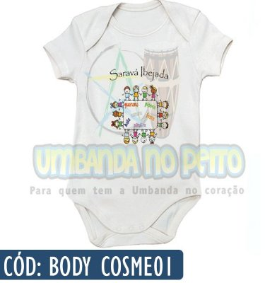 Body Infantil (Várias Estampas)