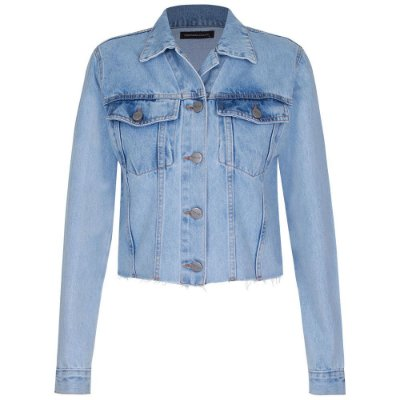 Jaqueta Jeans Madeline Cropped