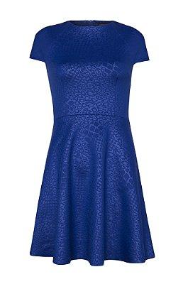Vestido Sucesso Azul Royal