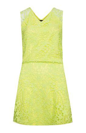 Vestido Sorte Verde Limão
