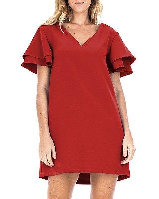 Vestido Basic Vermelho