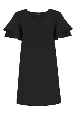 Vestido Basic Preto