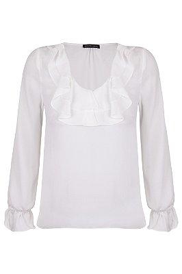 Blusa Bebel White