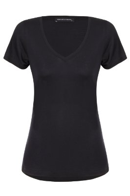 T-shirt Basic Black V