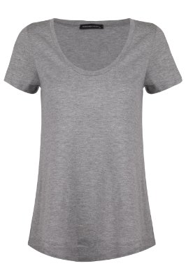 T-shirt Basic Cinza U