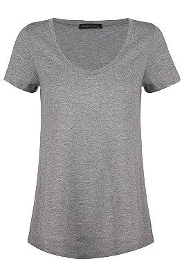 T-shirt Basic Cinza U