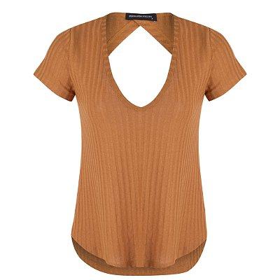 T-shirt Malu Caramelo