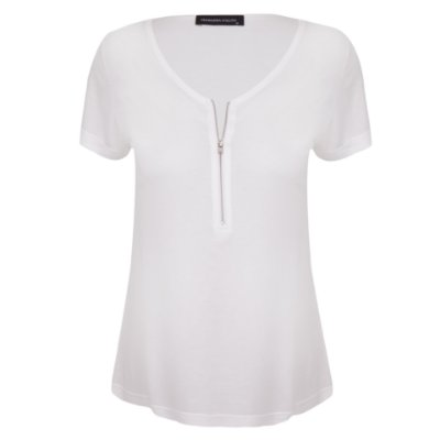 T-shirt Aline White