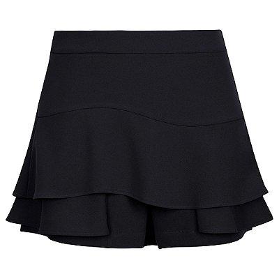 Shorts Saia Preto