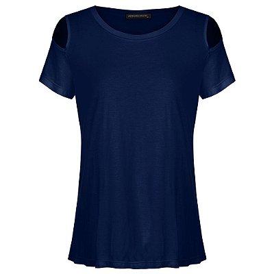 T-shirt Paloma Azul Marinho