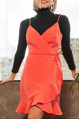 Vestido Julia Coral