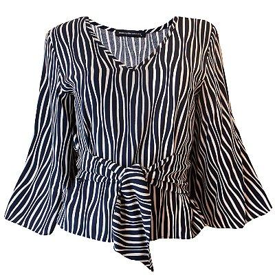 Blusa Charis Zebra