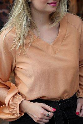 Camisa Julia Nude