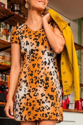 Vestido Laura Onça