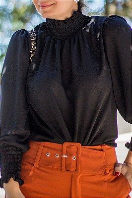 Blusa Mellina Black