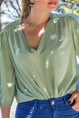 Camisa Laura Mint