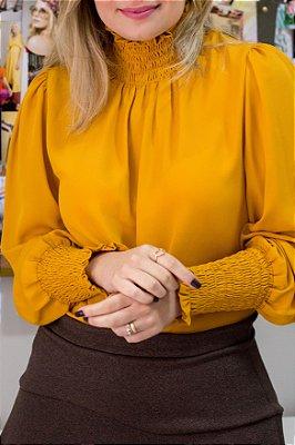 Blusa Mellina Mostarda