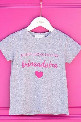 T-shirt Brincadeira