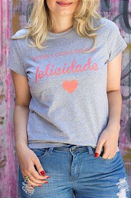 T-Shirt Felicidade