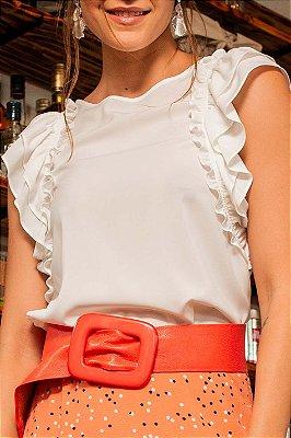 Blusa Fernanda White