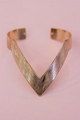 Bracelete Gold Escovado