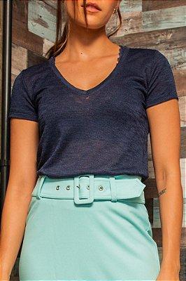 T-Shirt Mari Azul Marinho