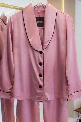 Pijama Conjunto Rosa
